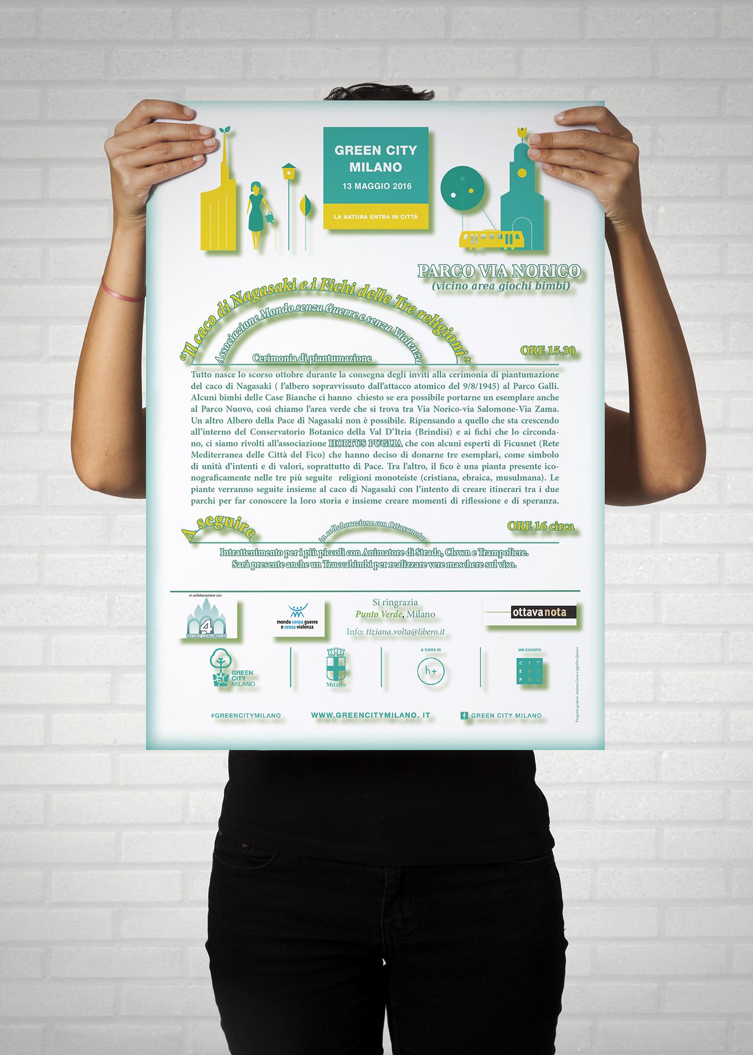 Locandina per evento GreenCity Milano