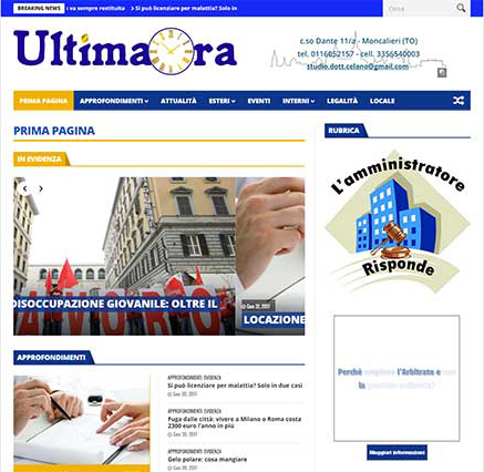 Ultimaora: quotidiano d'informazione