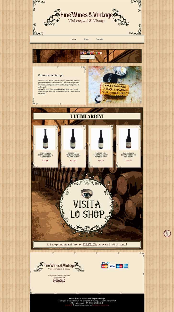 Fine Wines and Vintage - Vini pregiati e Vintage