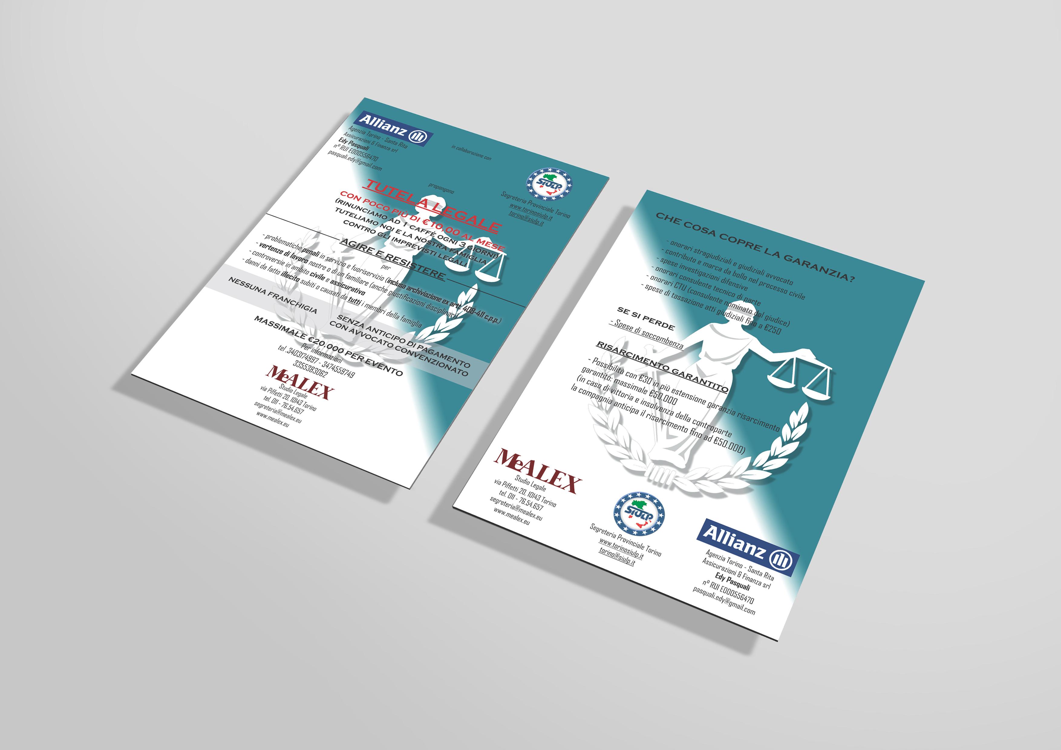 flyer MeALEX Studio Legale / SIULP