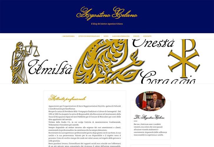 Il blog di Agostino Celano